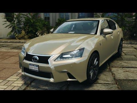 Lexus GS350 2013 v1.0