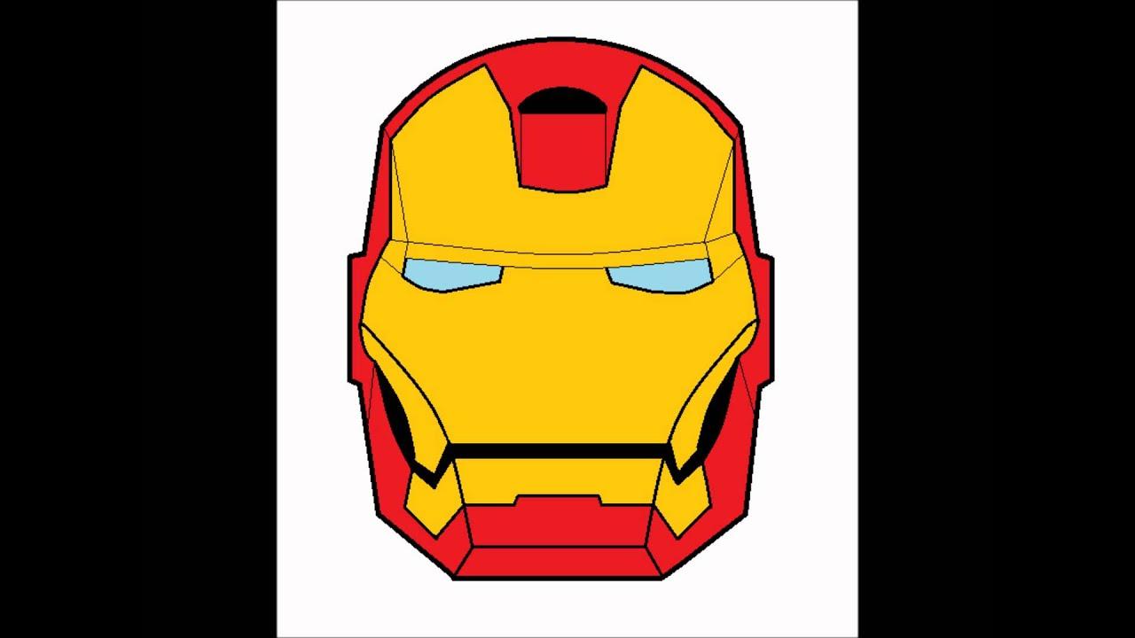 Iron Man Helmet Drawing How to Draw Iron Man Helmet