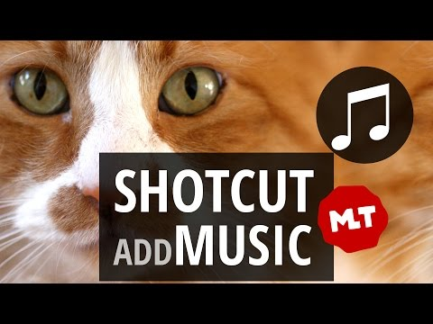 How to add Music to your  or Slideshow in Shotcut