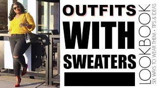 WINTER 💨 LOOKBOOK FT SWEATERS I OUTFITS TRY ON I PLUS SIZE FASHION