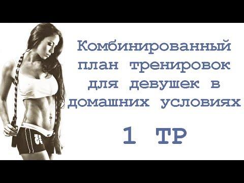 Программа тренировок для девушек в домашних условиях на неделю для