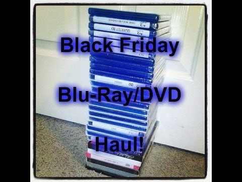 Black Friday 2013 Blu-Ray / DVD Haul Update