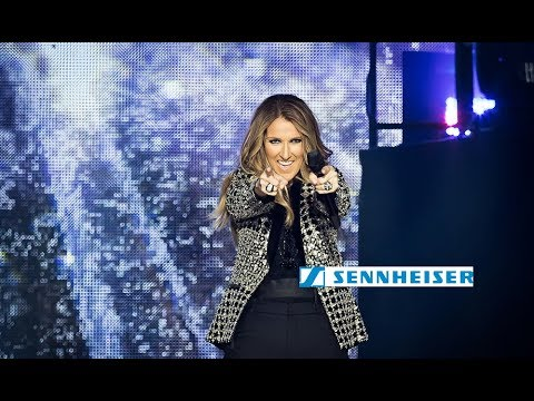 Céline Dion trusts Sennheiser