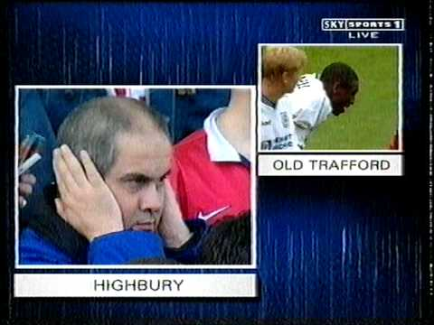 man united v tottenham 1998/99