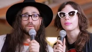 Ghost a Saber Tooth Tiger's Sean Lennon + Charlotte Kemp Muhl Interview - Mountain Jam 2014