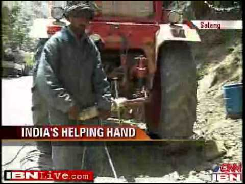 Helping hand from India bringing about a change in war-torn Afghanistan   Videos.flv
