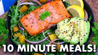 10 MINUTE MEALS – Easy Meal Prep Ideas