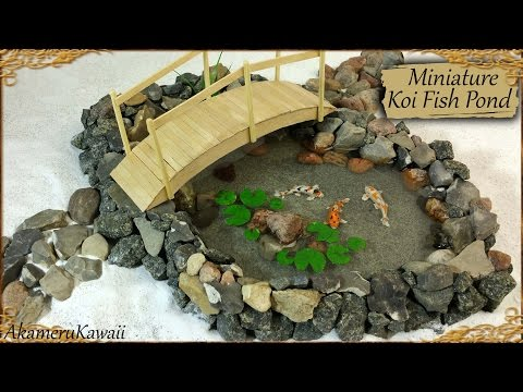 Miniatur for Runescape koi pool