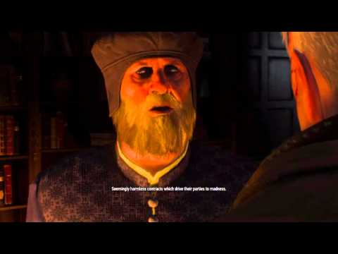 Witcher 3 Hearts of Stone - Whatsoever a man soweth - Professor Shakeslock House