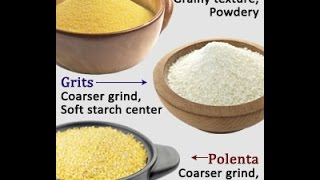 Highlighting the Difference Between Polenta Grits and Cornmeal