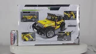 Mở hộp XingBao 03024 Lego City MOC Super Off-road Jeep giá sốc rẻ nhất