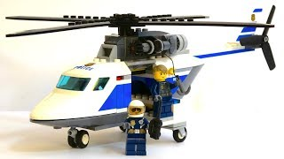 Building Police Helicopter | Learn Colors | Blocks Toys for Kids
