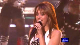 Клип Miley Cyrus - Fly On The Wall (live)