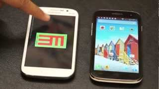 Micromax Canvas HD vs Samsung Galaxy Grand Benchmarks