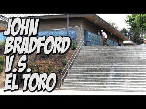 JOHN BRADFORD V.s. EL TORO 20 STAIR !!! - NKA VIDS -