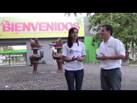 RedJXMex en Línea Instalaciones de la Feria de Colima (parte 1)