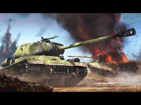 Тяжёлый советский танк ИС-2. War Thunder