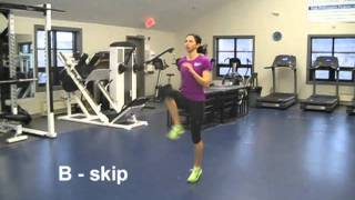 B skip drill - Sprint Drills for Runners