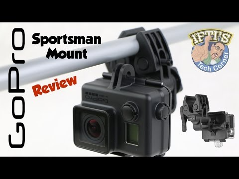 GoPro Sportsman Mount for Guns/Rifles/Fishing Rods/CrossBows - REVIEW