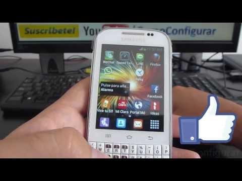 Como guardar videos y fotos automaticamente en Micro SD samsung Galaxy chat B5330