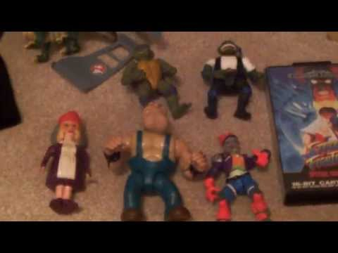 Mini Car Boot Sale Toy Finds - Rolf Harris Stylophone, Turtles and more