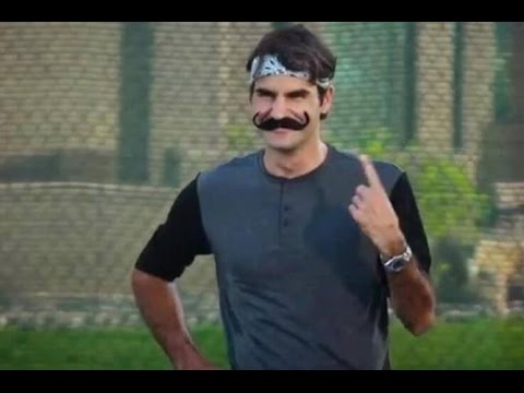 Roger Federer's Funniest Moments