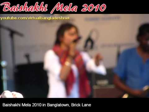 Baishakhi Mela 2010 - Bangla Town, Brick Lane, London (Clip1)
