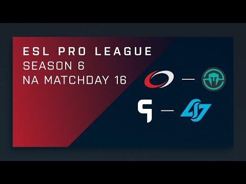 CS:GO: compLexity vs. Immortals | Ghost vs. CLG - Day 16 - ESL Pro League Season 6 - NA 2nd Stream