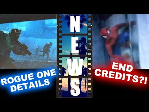 Star Wars Rogue One 2016 Update, Avengers 2 Spider-man End Credits?! - Beyond The Trailer video
