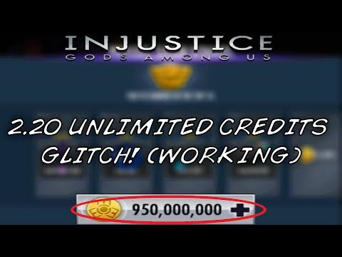 Injustice Mobile |  2.20 Unlimited Credits Glitch! (PATCHED) // IOS & Android
