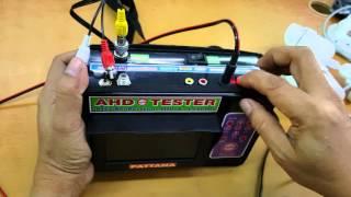 เครื่องเทสกล้องAHD&ANALOG&ดาวเทียมระบบHD