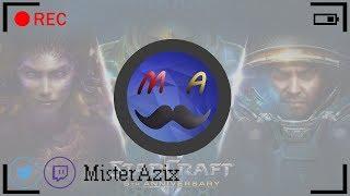 [LIVE] StarCraft II | #14 | Wings of Liberty | MisterAzix