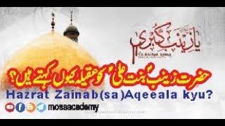 download lagu Fazail-e-hazrat Janab Zainab S.a Ali As Ke Lahje Ke gratis