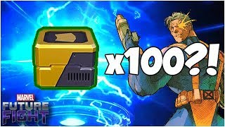 I NEED THE CABLE CARD (100+ Comic Card Chest Opening) - Marvel Future Fight