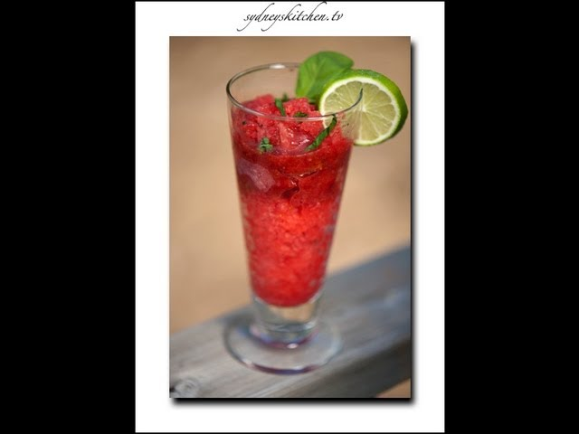 sddefault Strawberry And Orange Grenita (Mocktail) | Sanjeev Kapoor
