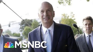 Will Key Impeachment Witness Take The 5th? | The 11th Hour | MSNBC