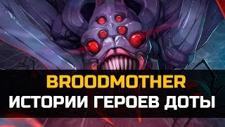 История Dota 2: Broodmother, Б