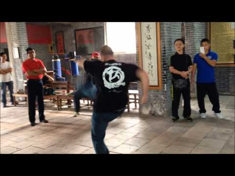 Choy Lay Fut Kung Fu: Lin Wan Kuen at the Chan Heung Ancestral Hall Image 1