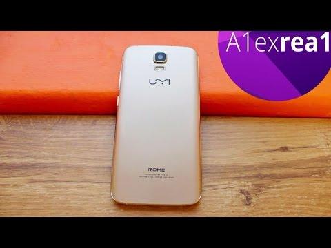UMI Rome обзор самого дешевого смартфона за 100$ на mtk 6753 c 3GB Ram