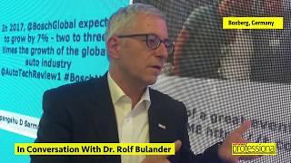 Dr Rolf Bulander | Interview | Autocar Professional