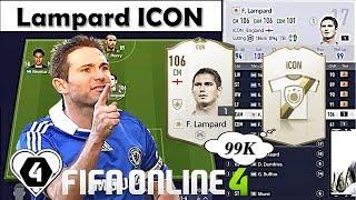 FIFA ONLINE 4: Cách Sở Hữu Lampard ICON CHỈ VỚI 99K & Event Tặng Lampard ICON Miễn Phí