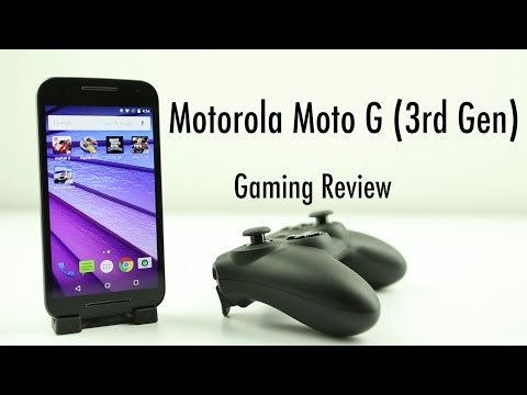 Motorola Moto G 3rd Gen Gaming review