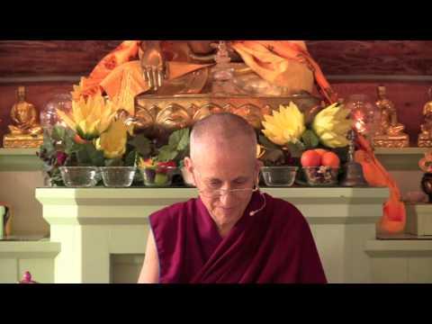 Sangha activities as a community