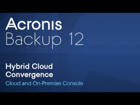 Acronis Backup 12   Complete Backup Solution