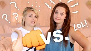 FIGHTING OVER BOYS! (w/ Cassie!!)