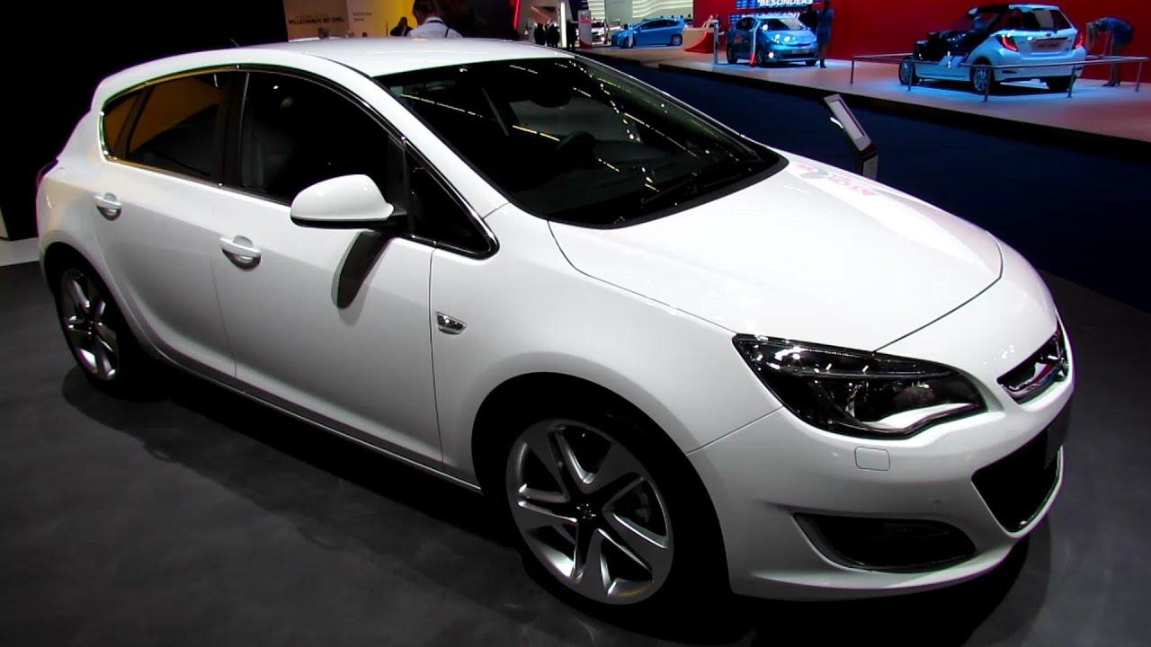 2014 Opel Astra EcoFlex Exterior And Interior Walkaround