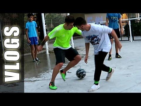 Partidos de Fútbol con Caños & Freestyle Football Skills - GuidoFTO Vlogs Diarios