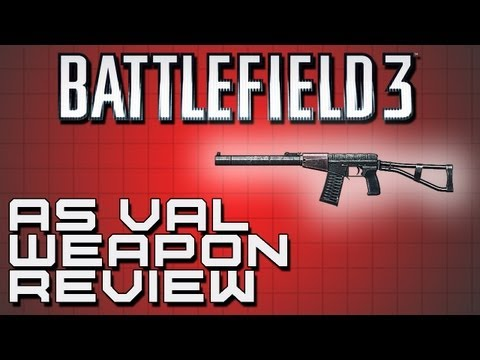 Battlefield 3 Weapon Review - AS VAL