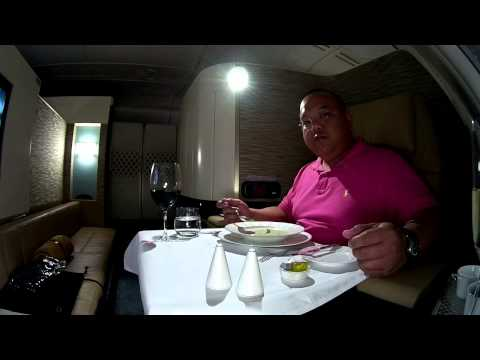 A380 Etihad Airways First Class Apartment Suite Experience Abu Dhabi to London