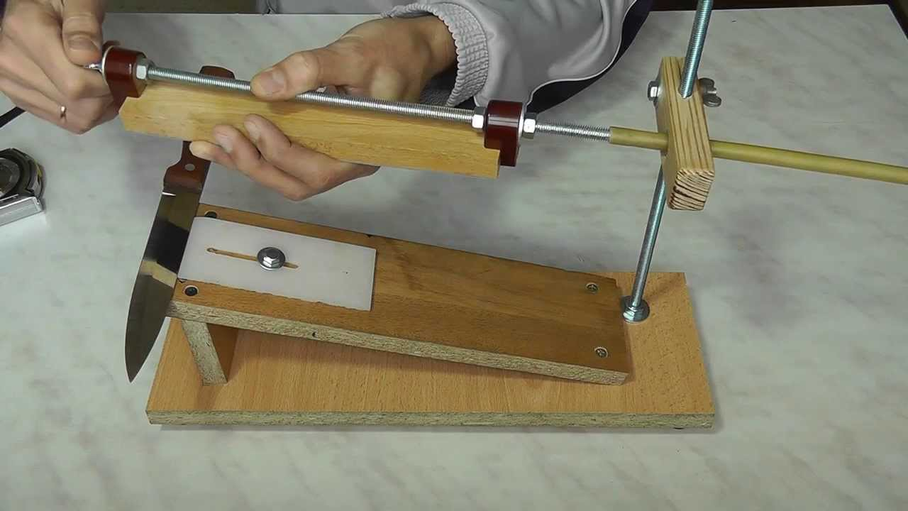 Точилка для охотничьих ножей своими руками 51